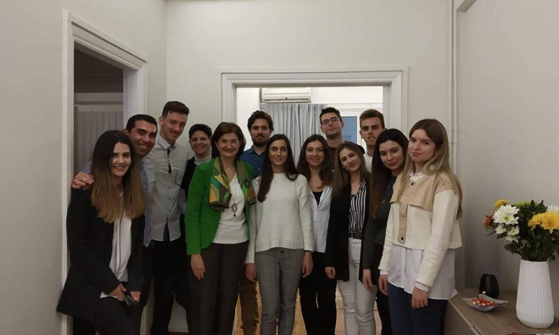 Επίσκεψη φοιτητών του Οικονομικού Πανεπιστημίου Αθηνών στο χώρο της «Διάλογος»